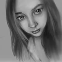 Girl portrait by Lalochnica