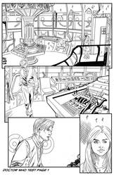 Pencil test Doctor Who pag1 by MeloMonaco