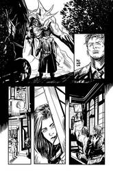 ink test doctor who 10th page2 by MeloMonaco