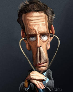 House M.D. caricature by nelsonsantos
