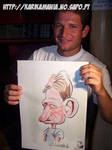 Live Caricature Dude by nelsonsantos