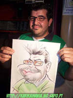Live Caricature Chap by nelsonsantos