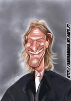 Sean Bean caricature by nelsonsantos