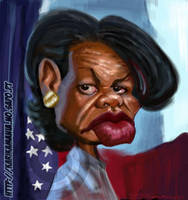 Condoleezza Rice by nelsonsantos