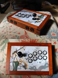 Custom Arcadestick for Pat by Mc-Cool-99