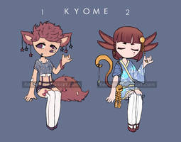 Kyome adopt OPEN (1/2) by ReeSell