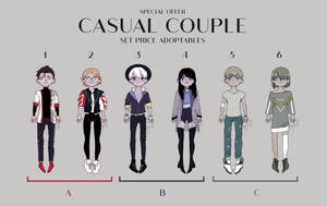 Casual couple adopt [ OPEN ] // special offer by ReeSell
