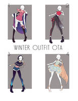 Winter outfit OTA [ OPEN ] by ReeSell
