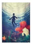Inktober 04 - Underwater - by Aohakath