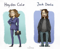 Cale and Jack by CopperKidd