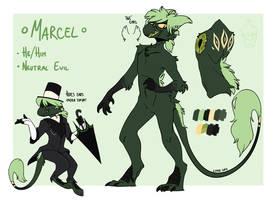 Marcel ref by Shiro-Daemon