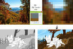 How to easly get background color palette by Shiro-Daemon