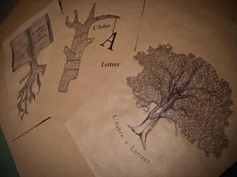 L'arbre a lettres by oohTony