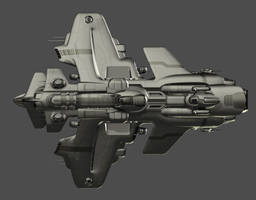 'Tzedakah' Destroyer Top View 24 by universalpainkiller