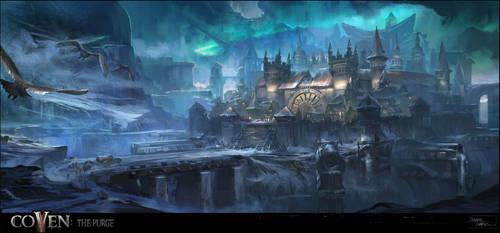 Fjordsgate Citadel by XavierWard