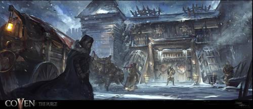 The Midden: Entrance by XavierWard