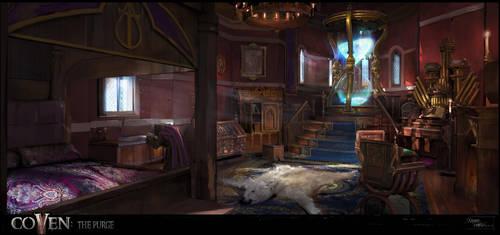 High Arbiter's Chambers by XavierWard