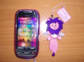 Custom Phone Strap by Ishtar-Creations