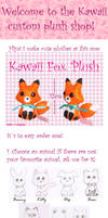 Instructions for order plush by Ishtar-Creations
