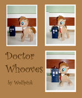 Doctor Whooves Plush SOLD by Ishtar-Creations
