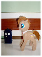 Dr Whooves Plush For Sale by Ishtar-Creations