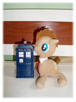 Doctor Whooves Plush FS 2 by Ishtar-Creations