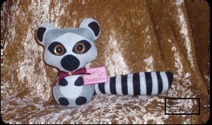 Lemur Kawaii Chibi Plush by Ishtar-Creations