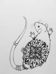 Rat Mandala by LauraNeocleous