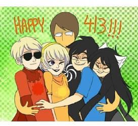 Happy 4/13!! by Otakupower01