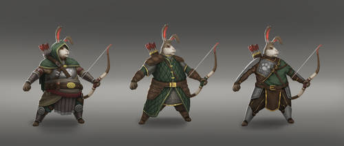 Rabbit archer concept by Sucdeportocale