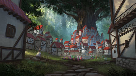 Rabbit City Concept by Sucdeportocale
