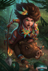 Ruthless Caipora by Sucdeportocale