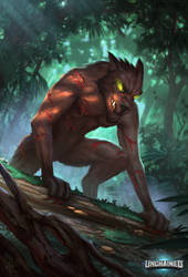 Ferocious Rougarou by Sucdeportocale