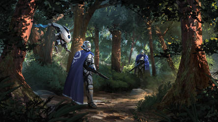 Forest Hunt by Sucdeportocale