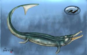 Geosaurus vignaudi by karkemish00