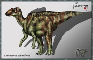 Aralosaurus tuberiferus by karkemish00