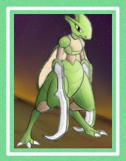 Hook Sword Scyther by Alraune-Oblongata