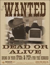 Wanted Dead or Alive by Dragavan