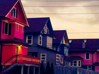 Lines of Houses and Lines by picedwrites