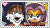 Stamp: Merlin X Isabella by P0k3ys-Stamps