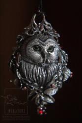 Pendant Owl by AnikoRi