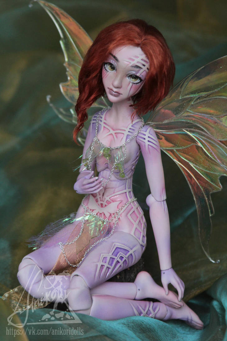 Athea. Ball-jointed doll limited collection by AnikoRi