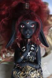 Inpu. BJD doll in resin bunny series Rio by AnikoRi
