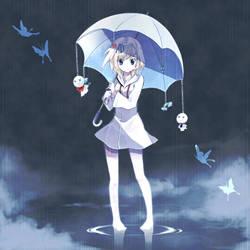 The Rain by mizudokei