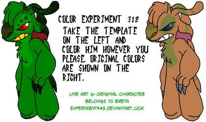 Coloring Contest Entry by MiriamTheBat
