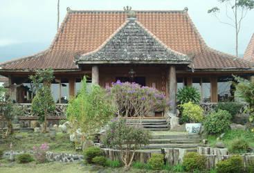 main house of joglo by ciuyanto