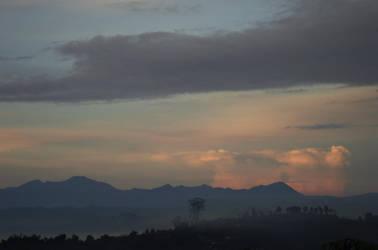 sun rise at lembang hill by ciuyanto