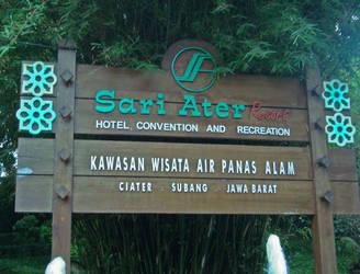 sari ater gate by ciuyanto