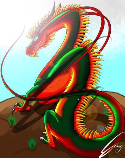 Chinese Dragon by avpke