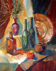 bottles by ZhdaNN